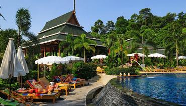 Chai Chet Resort, Ko Chang - pláž Klong Prao, Bangkok Palace Hotel, Bangkok