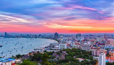 Royal Twins Pattaya, Pattaya, Samed Hideaway Resort, Ko Samet - pláž Ao Klang, Bangkok Palace Hotel, Bangkok