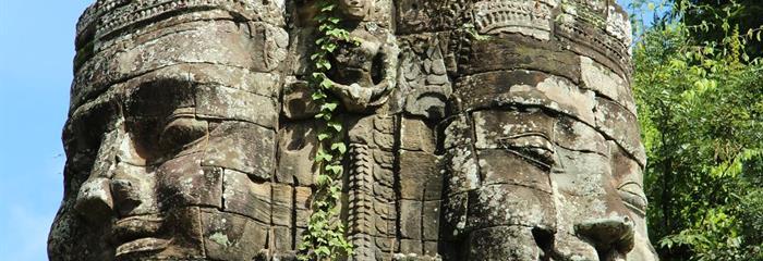 Kambodža - po stopách Khmérské říše