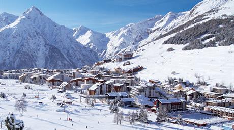Priv. apartmány Les 2 Alpes