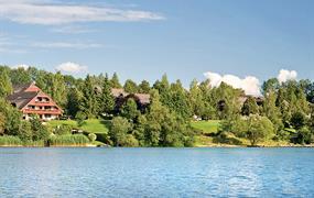 Prázdninová vesnička Maltschacher See