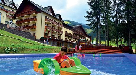 Ski & Wellness Residence Družba - polopenze