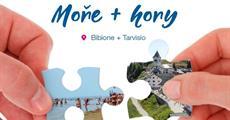 MOŘE a HORY Itálie