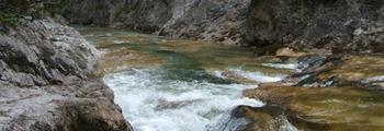 Soutěsky a vodopády Ötscheru