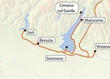 Lago di Garda a okolí (bez nočních přejezdů)