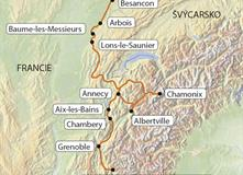 Savojské Alpy (bez nočních přejezdů)