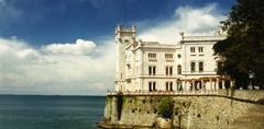 Benátky a zámek Miramare
