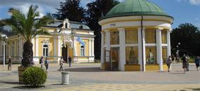 Západní Čechy - lázeňský trojúhelník a relikviář sv. Maura