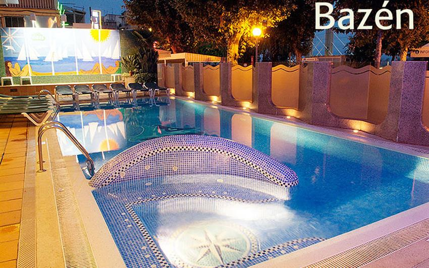 Calella - hotel Checkin Garbi - letecky