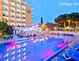 Malgrat de Mar - hotel Top Cartago Nova - letecky