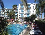 Malgrat de Mar - hotel Top Planamar - letecky