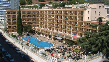 Calella - hotel Bon Repos - bus