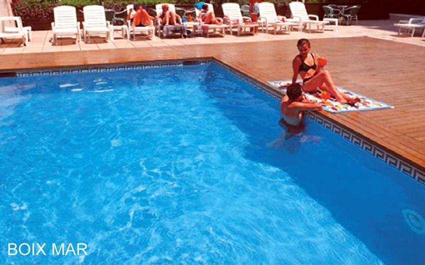 Blanes - hotel Checkin Boix Mar - letecky