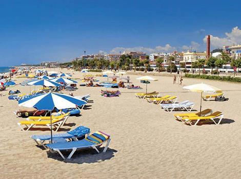 Koupání ve Španělsku