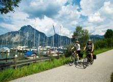 Na kole ze Salzburgu do Vídně