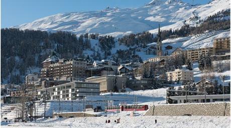 Lyžování v St. Moritz