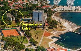 Depandance Jadran - 3 noci, příjezd denně