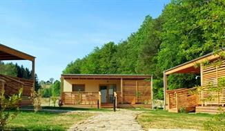 Glamping vily - 2 noci, polopenze