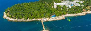 Hotel Delfin Plava Laguna - 3 noci + jízdenka RegioJet v ceně