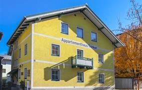 Zell am See, apartmány Trinker - zima