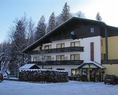 Bad Ischl, zima, Gasthof Pfandl-zima **