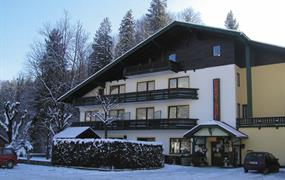 Bad Ischl, zima, Gasthof Pfandl-zima