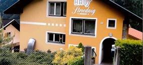 Flattach, pension Striednig - léto