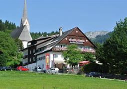 Gosau, Gasthof Kirchenwirt - léto
