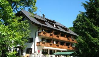 Abersee, hotel Carossa - léto