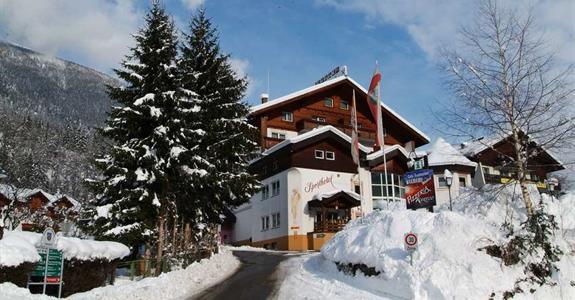 Flattach, zima, Sporthotel Mölltal***
