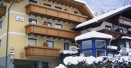 Flattach, zima, hotel Gletschermühle***