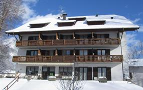 Abersee, hotel Carossa - zima