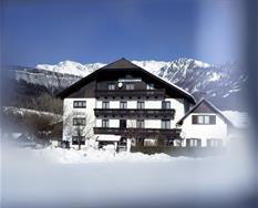 Bad Goisern, Pension Bergblick, zima ***