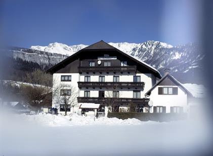 Bad Goisern, Pension Bergblick, zima