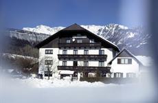 Bad Goisern, Pension Bergblick, zima, akce 4=3