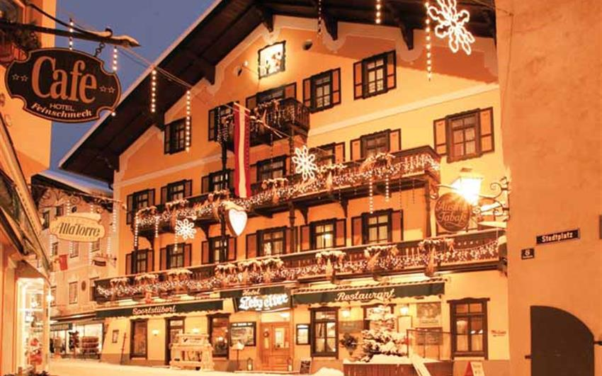 Zell am See, hotel Lebzelter***, zima