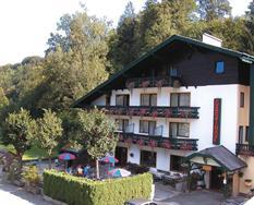 Bad Ischl, Gasthof Pfandl - léto **
