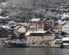 Hallstatt, hotel Heritage**** - zima ****