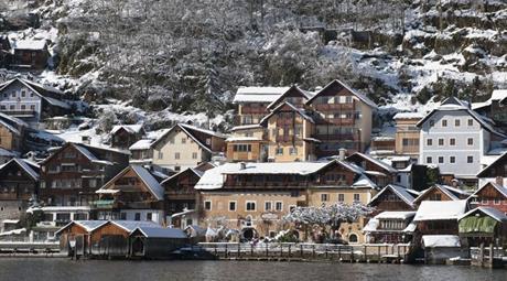 Hallstatt, hotel Heritage**** - zima