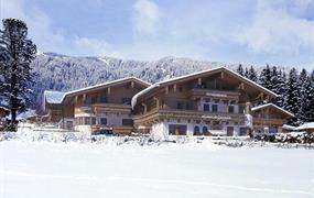 Krimml, Landhaus Rosengartl - zima