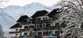 Bad Goisern, zima,hotel Lindwurm, all inclusive light, děti do 12.9 let ZDARMA