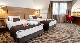 Advent v Budapešti, hotel Rubin Wellness****