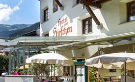 hotel Zum Hirschen****, léto, Zell am See