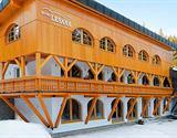 zimní wellnes, hotel Lesana***