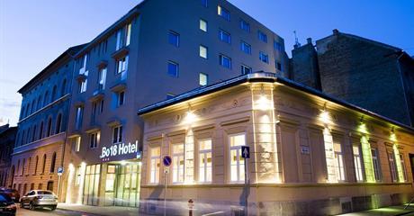 Budapešť, hotel BO18