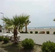 Albánie-Velipoje hotel Princi Vogel