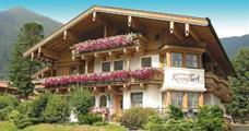 Landhaus Rosengartl – Krimml léto