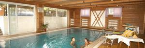 Hotel Sporting s bazénem PIG- Cavalese ***