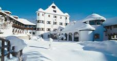 Family Hotel Schloss Rosenegg s bazénem – Fieberbrunn