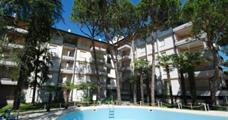 Rezidence Donatello s bazénem AL– Lignano Riviera